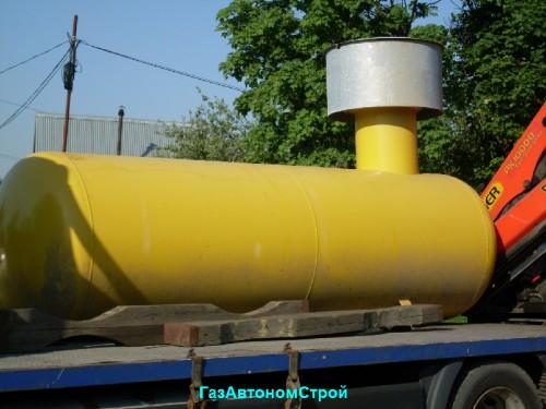 газовое отопление от баллонного газа