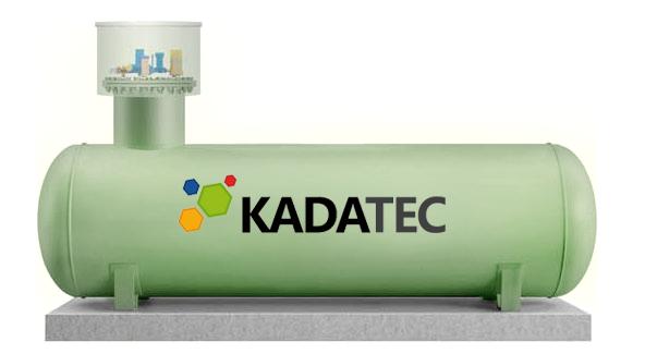 Газгольдер Kadatec высокая горловина