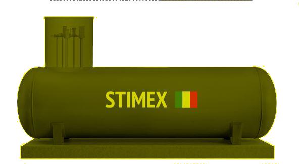 Газгольдер Kadatec Высокие трубы