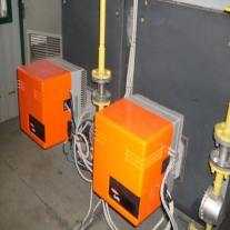 Монтаж и настройка двух газовых горелок по 150 кВт цена за одну 10000 руб., за две 20000 руб