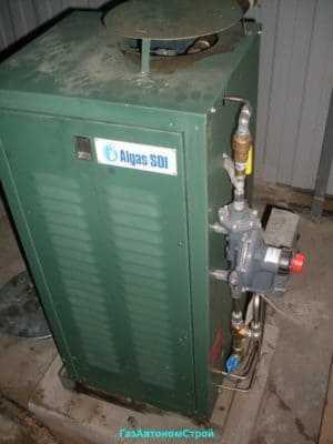 Испарительная установка Albigaz 40 кВт стоимость 850000 рублей