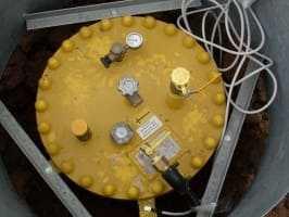 Как установить газгольдер на даче