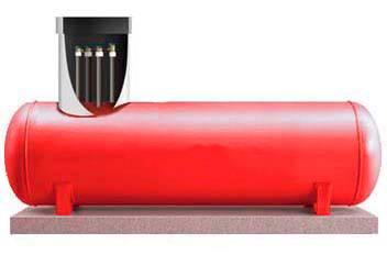 Газгольдер ФасХимМаш (высокая горловина 500 мм)