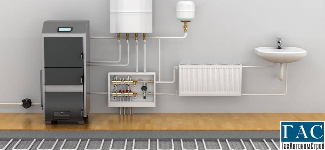 Монтаж водяного отопления под ключ