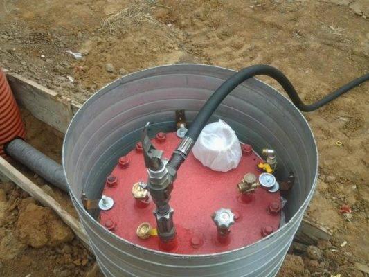Газгольдер резервуар бу