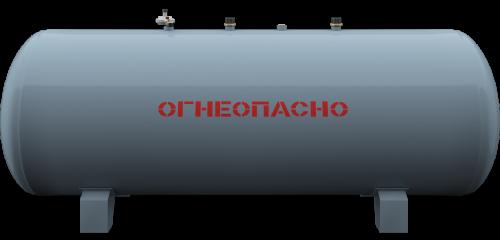 Наземный газгольдер Медведь 1700 литров 1